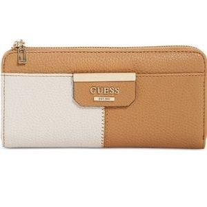 GUESS Bobbi Slim Zip Wallet